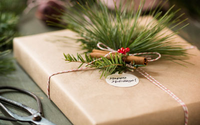 Brown Bag Gift Wrap
